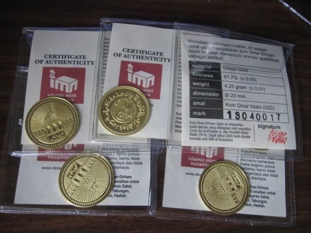 Dinar Islamic Mint Nusantara